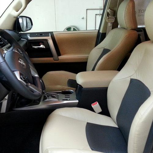 Wheels, Leather & Lift Kit Installation