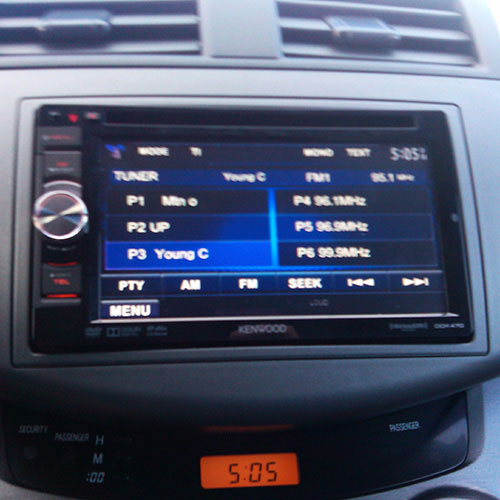 In-Dash DVD Player Installation
