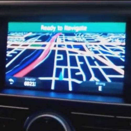 In-Dash Navigation Installation