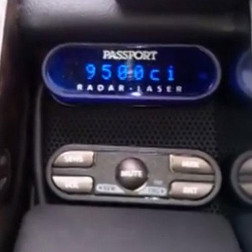 Radar Detector Installation