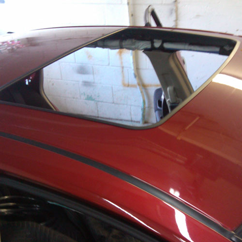 Sunroof Installation