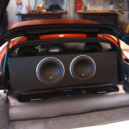 Subwoofer & Amplifier Installation
